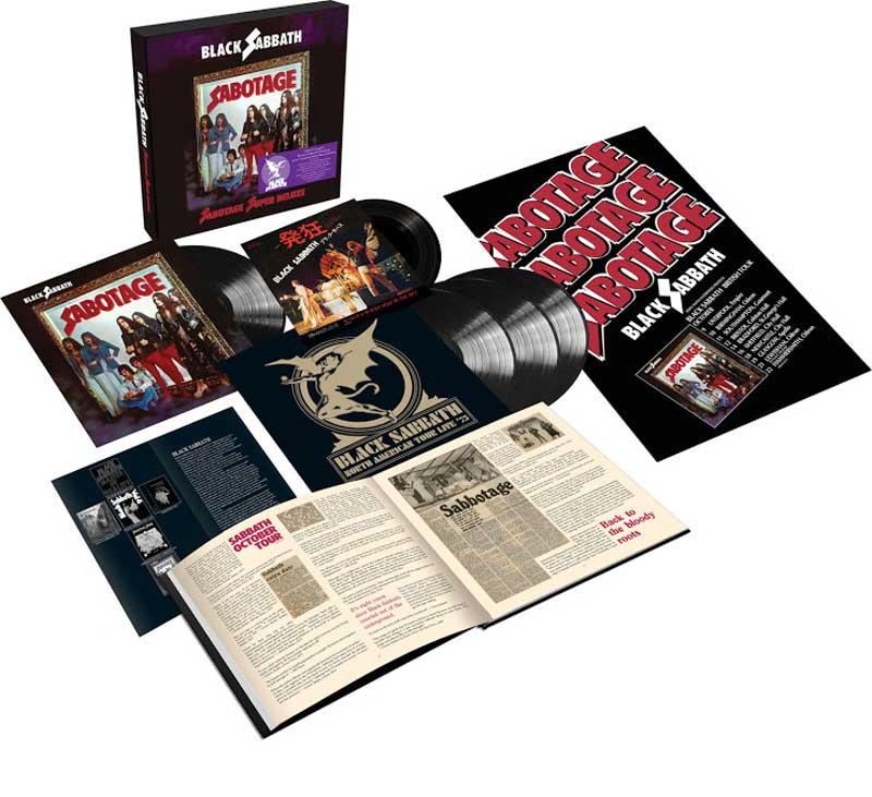 Black Sabbath Sabotage boxset