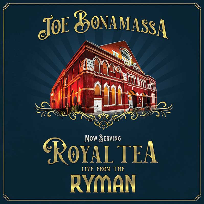 Cover of Now Serving: Royal Tea Live From The Ryman from Joe Baonmassa