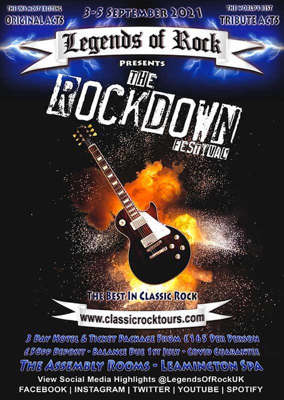 The Rockdown festival poster