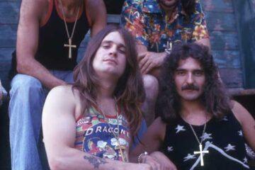 Photo of Black Sabbath in 1975