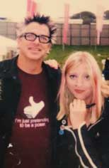 Photo of Sara Harding and The Offspring