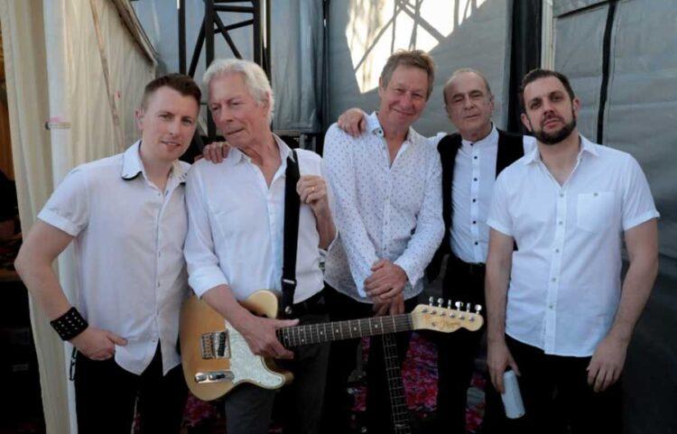 Photo of legendary Rockers Status Quo