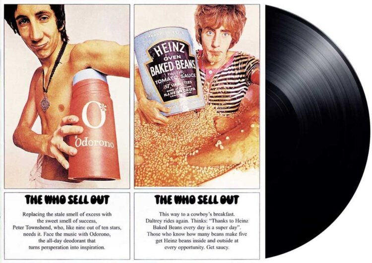 The Who Sell Out album cover