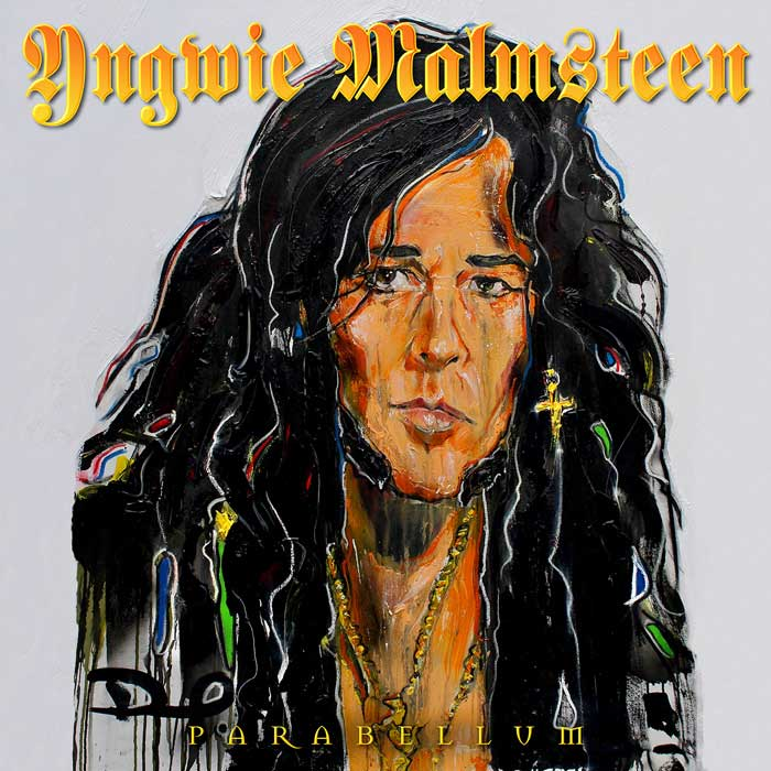 Cover of 'Parabellum', the new album from Yngwie Malmsteen