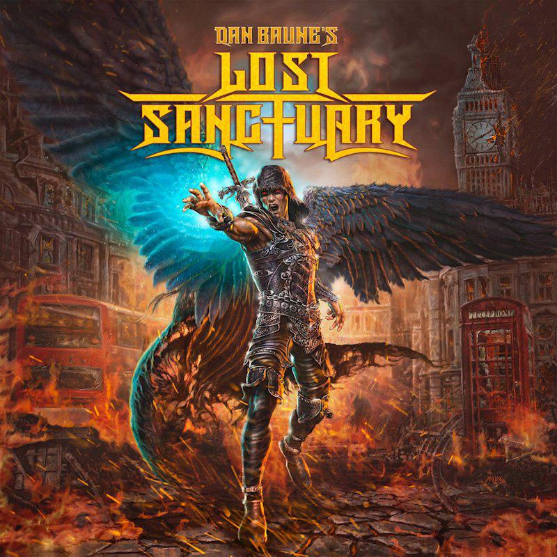 Cover of Dan Baune's Lost Sanctuary
