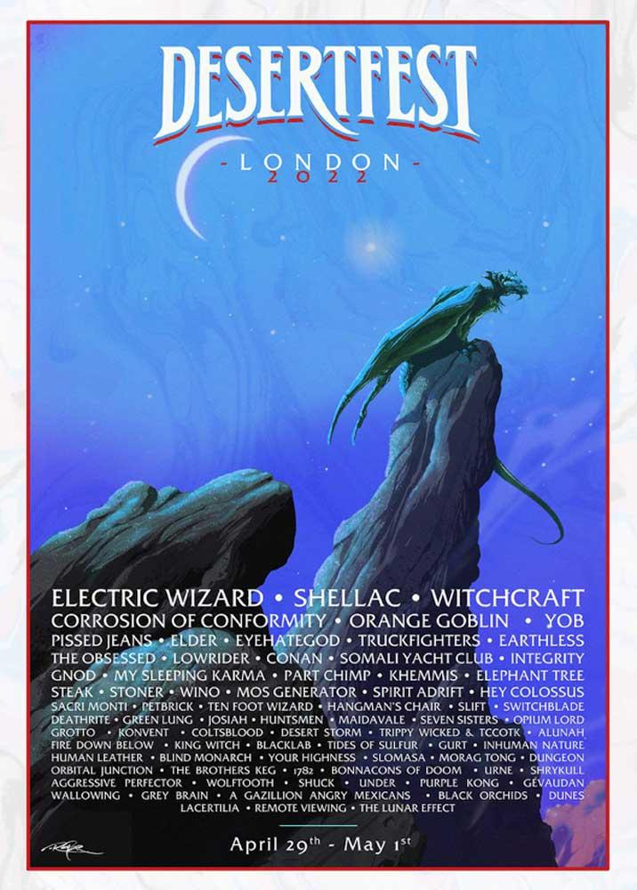 Desertfest 2022 Poster