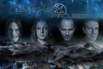 "Bobby Koeble (Death), Matt Nardo (Producer), Tk (Britny Fox) and Tim ""Ripper"" Owens (guest vox, x-Judas Priest) from Leviathan Project"