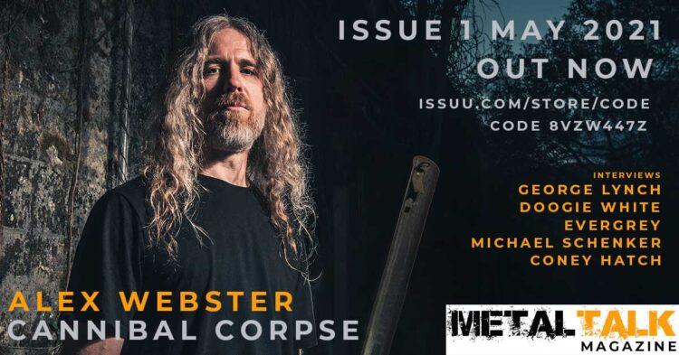 MetalTalk magazine issue 1 May 2021