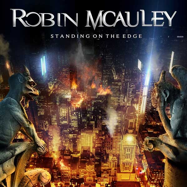 Cover of Standing on the Edge, from Robin McAuley