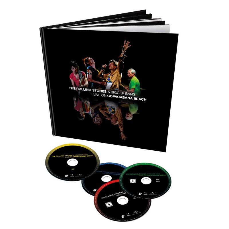 The Rolling Stones, Copacabana Beach show cover
