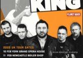 King King/The Damn Truth Feb 2022 Tour Poster.
