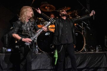 KK Downing, Tim Ripper Owens and Les Binks from KK's Priest