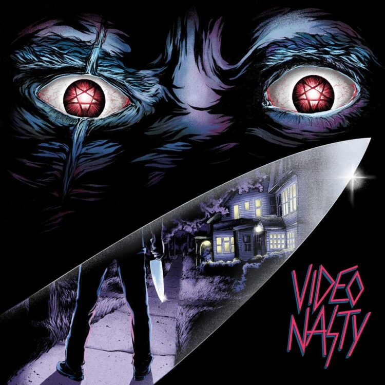Cover of the EP Video Nasty, from Video Nasty
