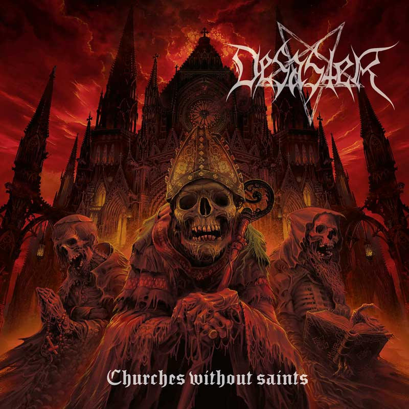 Cover of Churches Without Saints from Desaster