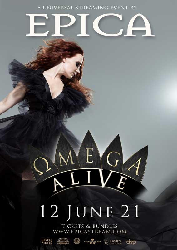 Epica Omega Alive poster