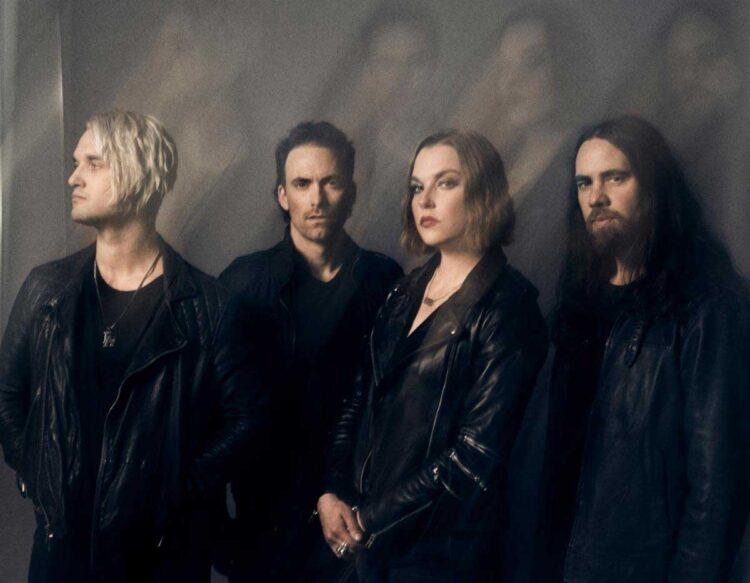 Photo of the band Halestorm