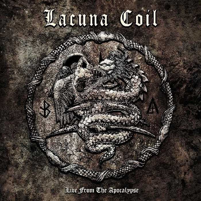 Cover of Live From The Apocalypse from Lacuna Coil