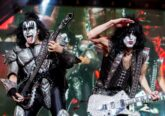 Photo of the band Kiss