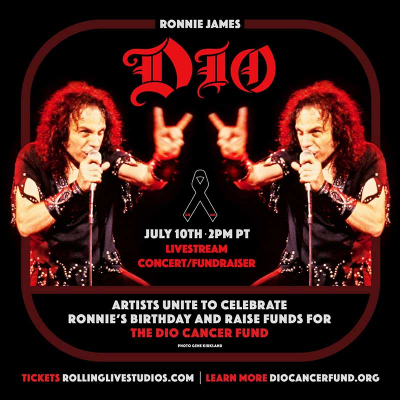 The Ronnie James Dio Stand Up and Shout Cancer Fund