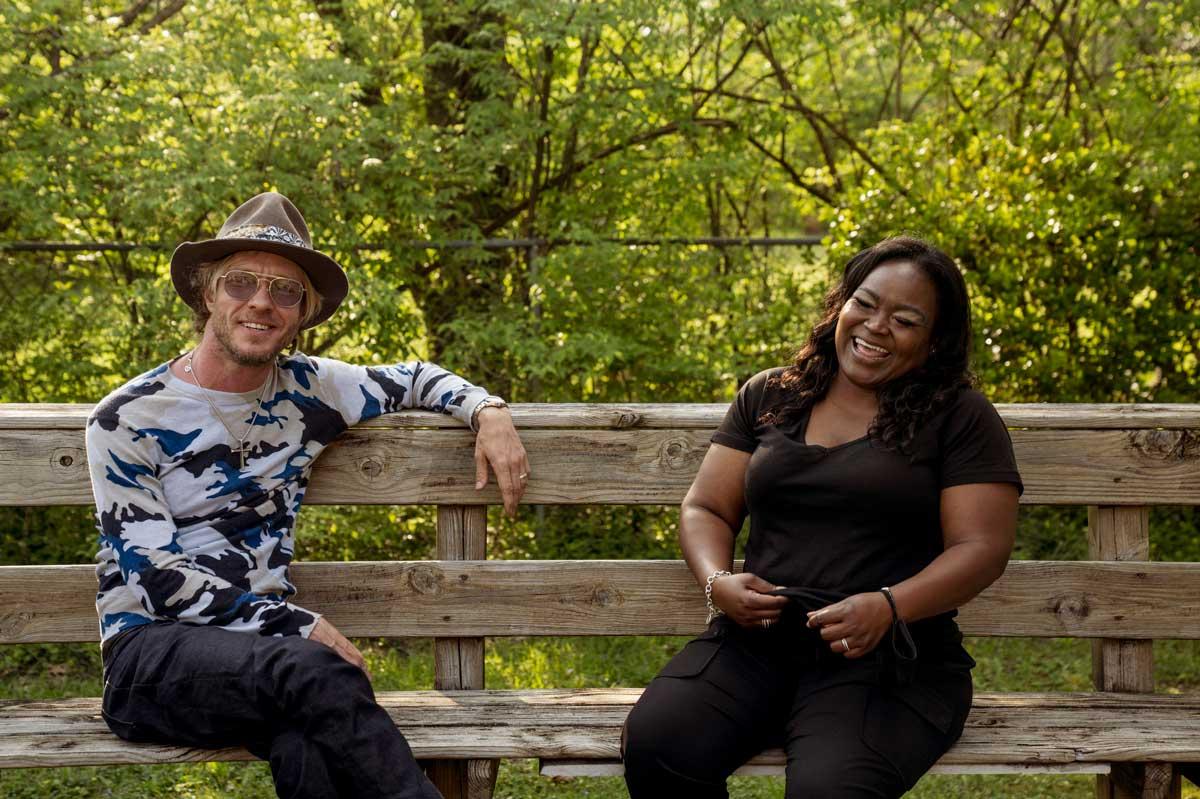 Shemekia Copeland and Kenny Wayne Shepherd