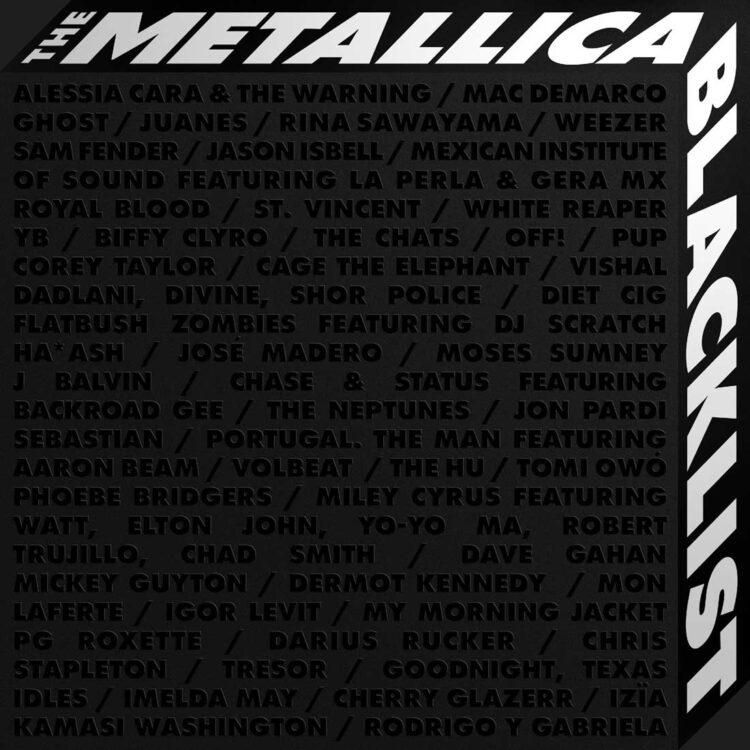 Cover of Metallica, The Blacklist album