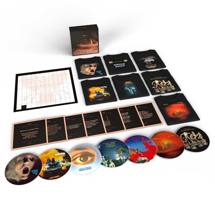 Uriah Heep Every Day Rock boxset