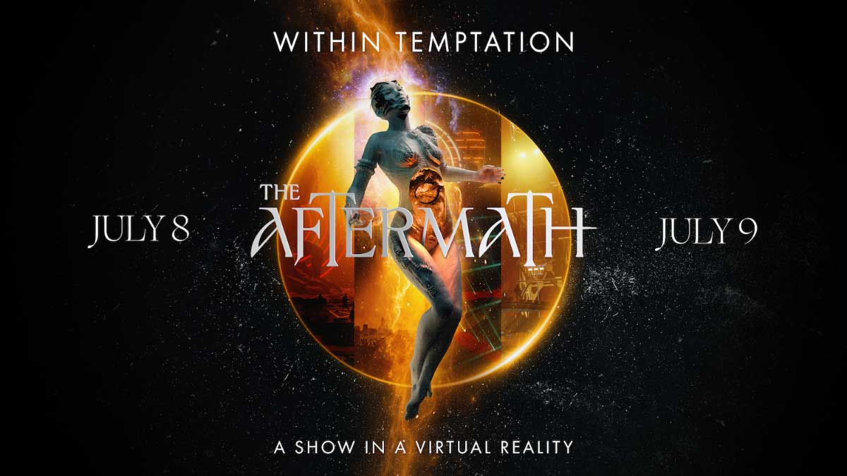 Within Temptation - The Aftermath – A Show In A Virtual Reality poster