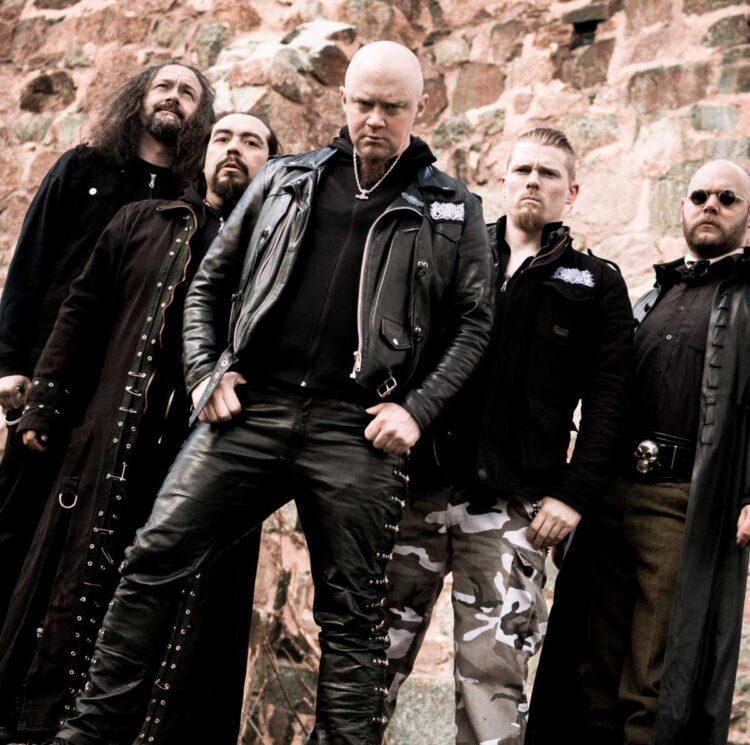 Burning Darkness, who release the album Dödens Makt