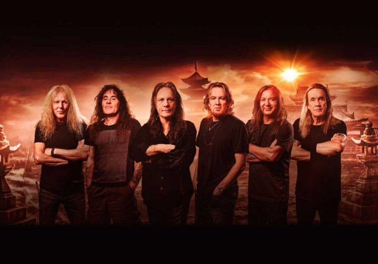 Photo of Heavy Metal legends Iron Maiden