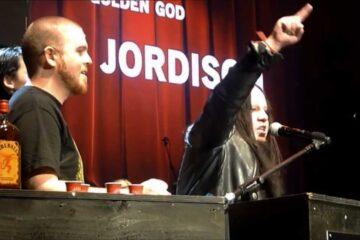 Photo of Slipknow drummer Joey Jordison
