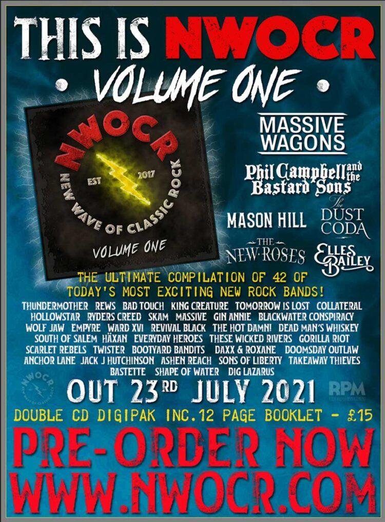 NWOCR Volume 1 Album cover