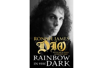 Cover of Ronnie James Dio - Rainbow in the Dark - The Autobiography