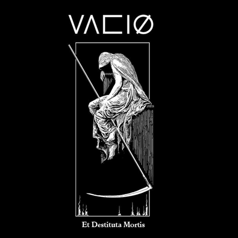 Cover of Vaciø debut EP Et Destituta Mortis