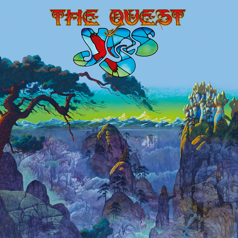 Cover of The Quest by YES