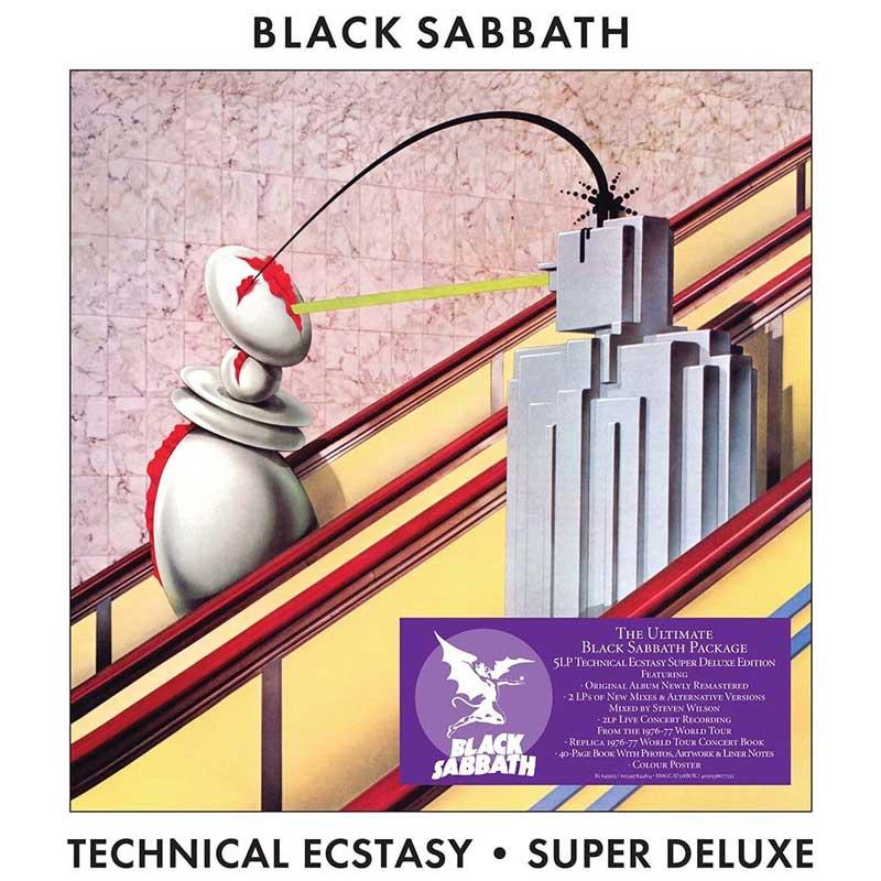 Black Sabbath Technical Ecstasy boxset