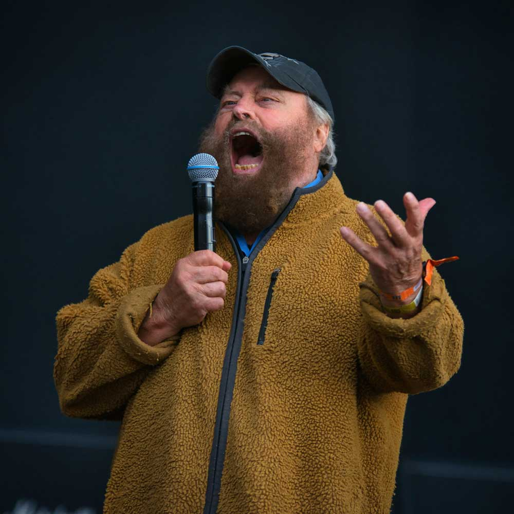 Brian Blessed, Bloodstock 2021. BOA21
