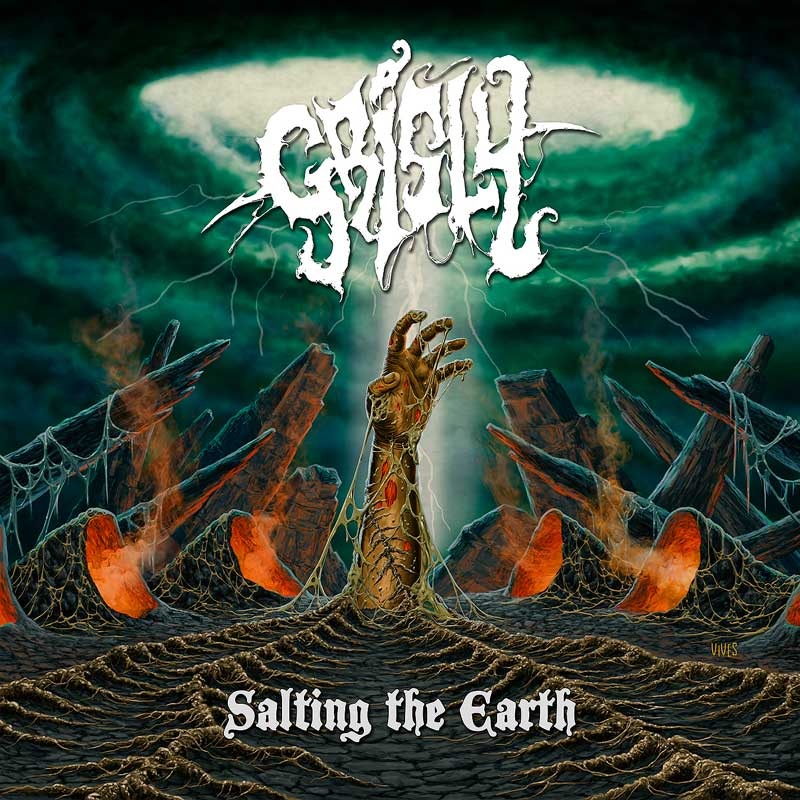 Cover of Grisly, Salting The Earth
