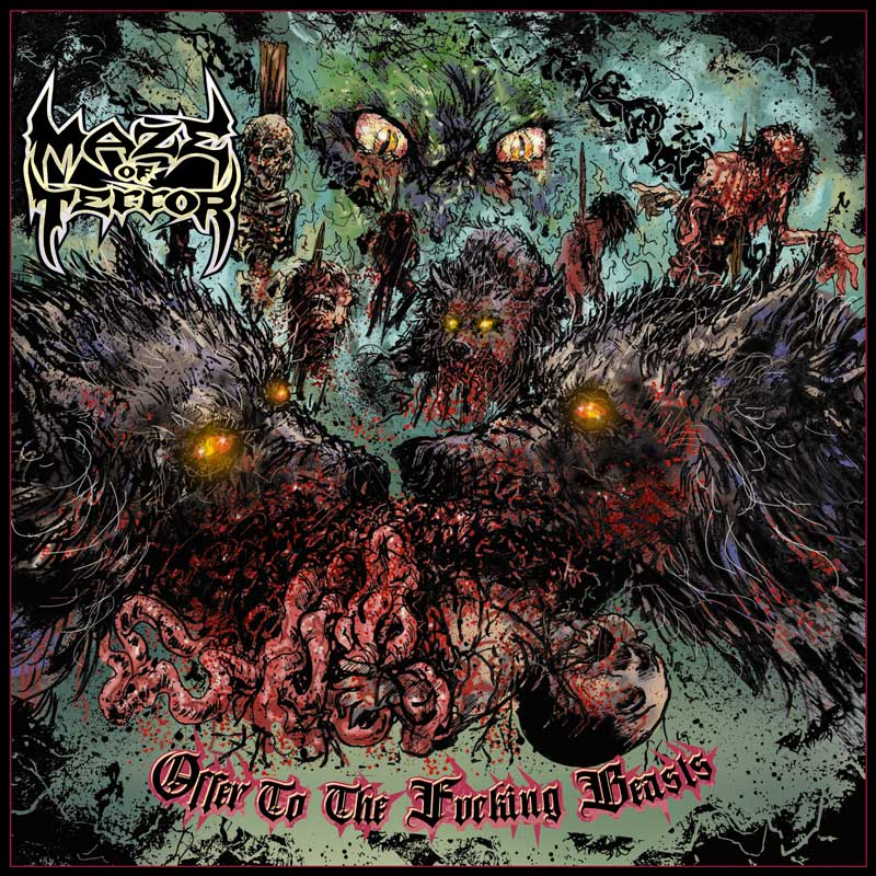 Cover of Offer To The Fucking Beasts from Maze Of Terror