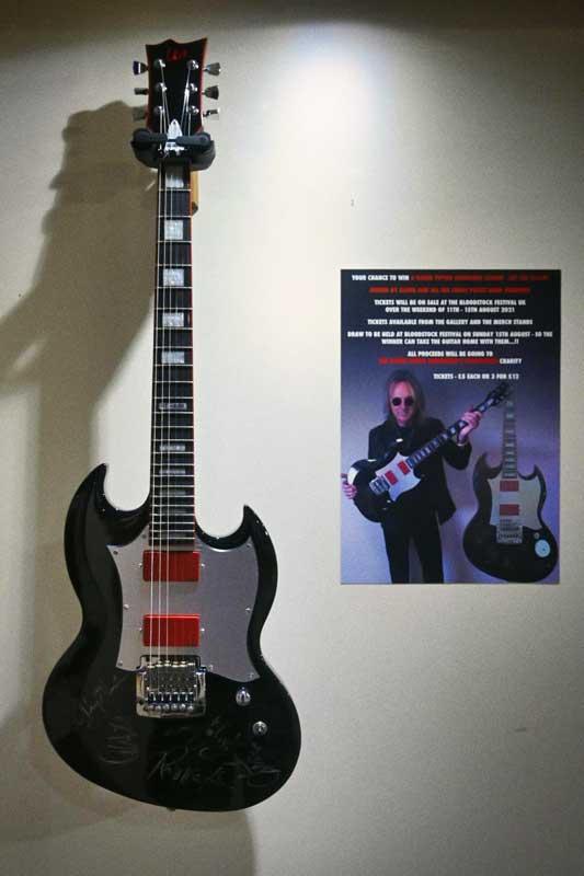 Glenn Tipton Guitar, Bloodstock 2021. BOA21
