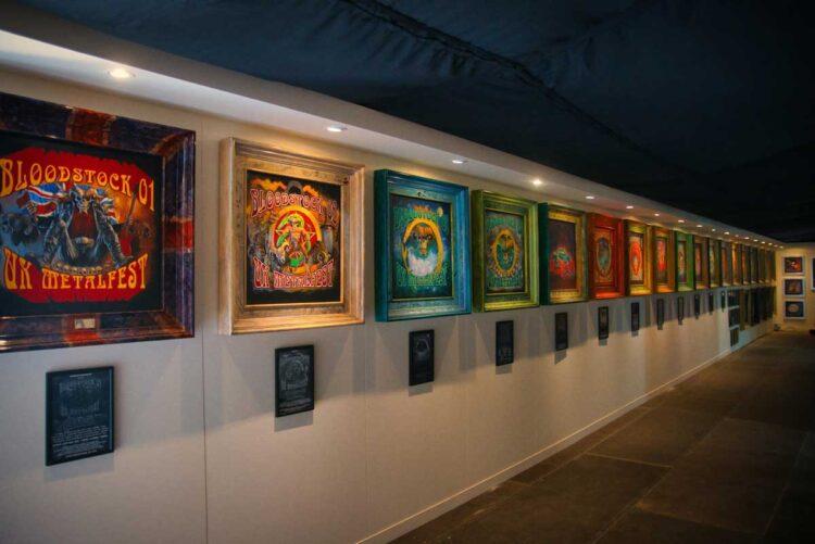 The RAM Gallery, Bloodstock 2021. BOA21