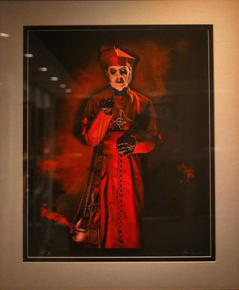 John McMurtrie, Ghost. Bloodstock 2021. RAM Gallery. BOA21