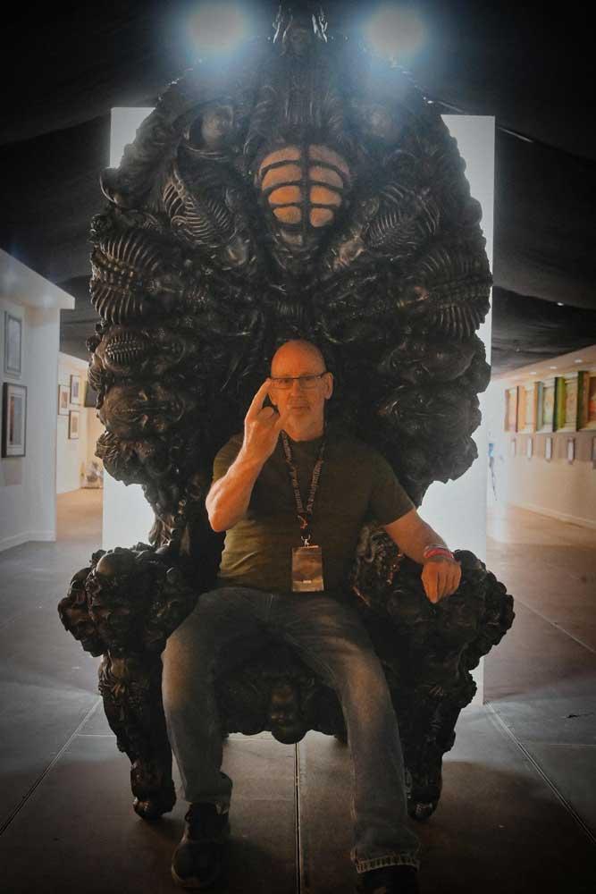 Liam Brandon Murray sculpture. RAM Gallery, Bloodstock 2021. BOA21