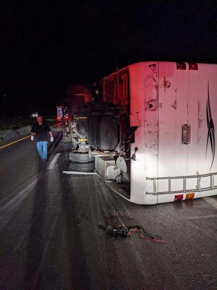 Sleep Signals tour bus involved in serious crash