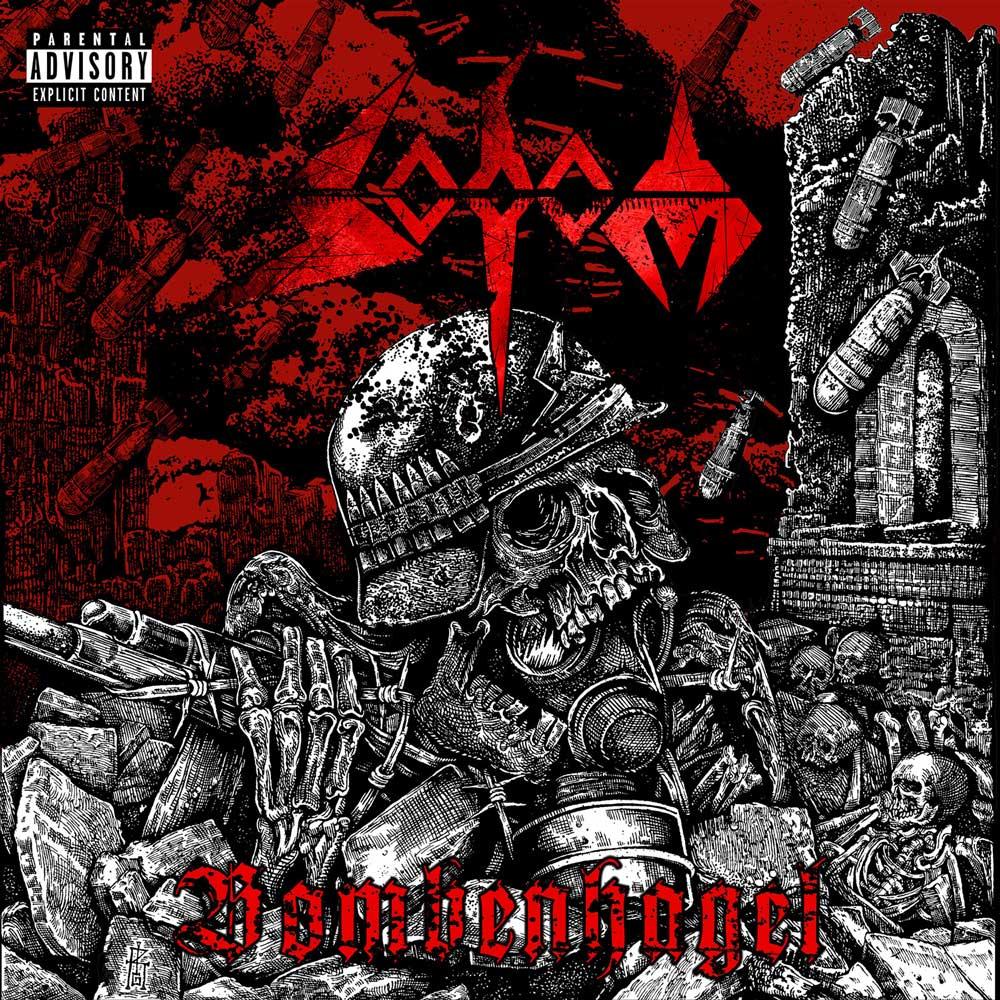 Cover of Bombenhagel from Sodom