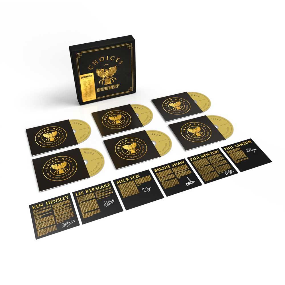 Uriah Heep Choices boxset