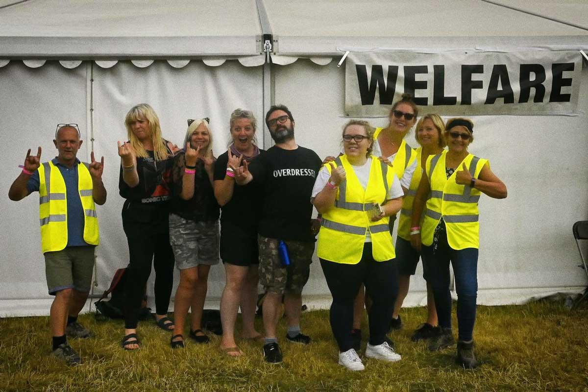 The Welfar Crew, Bloodstock 2021. BOA21