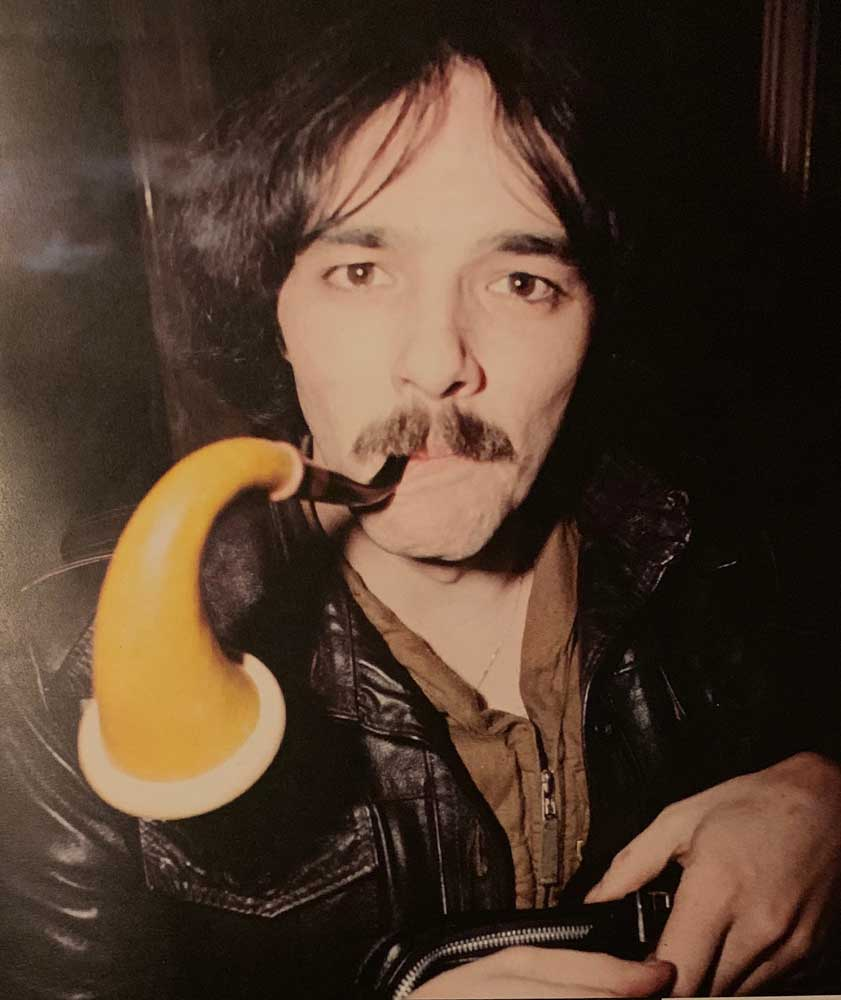 The late Dave Greenfield from The Stranglers