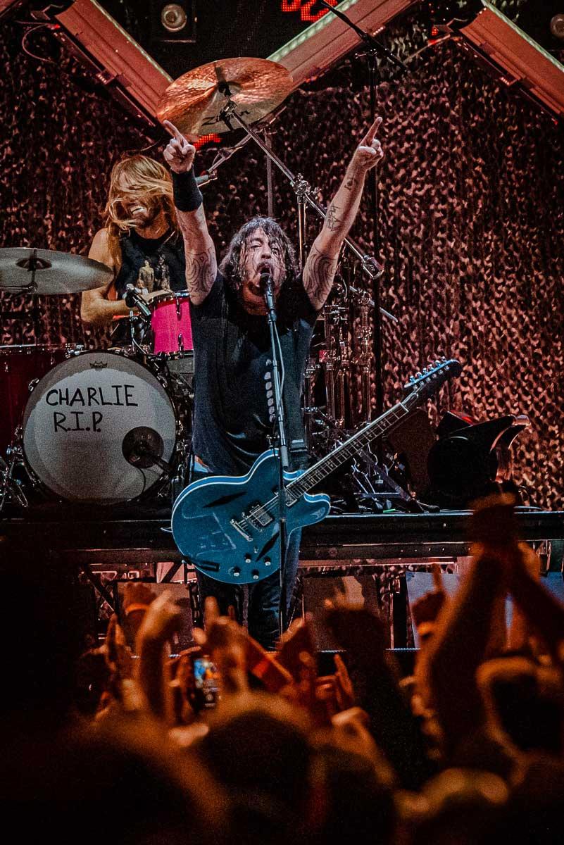 Foo Fighters at Bridgeport, CT's Hartford Healthcare Amphitheater. 17 September 2021