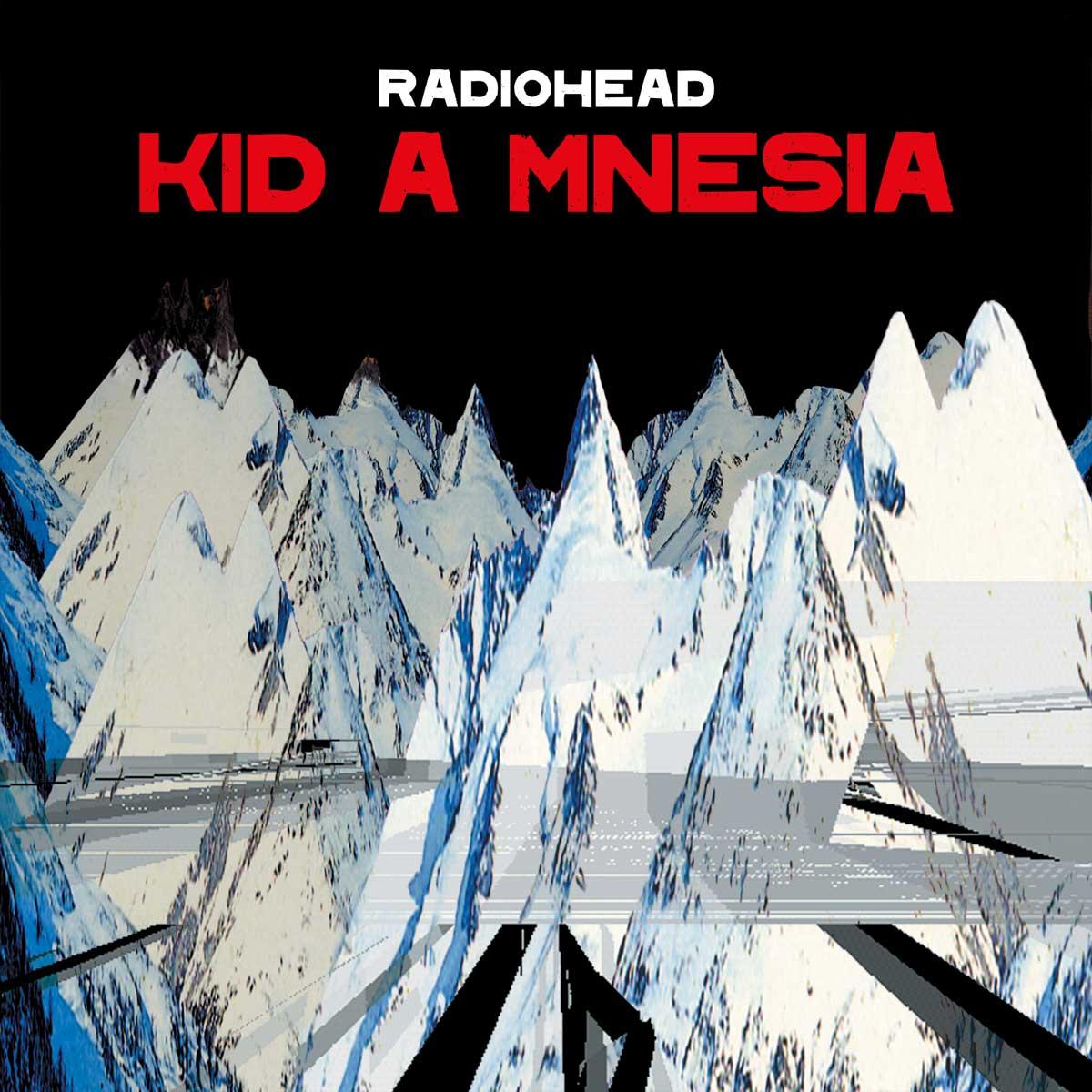 Radionhead KID A MNESIA album cover
