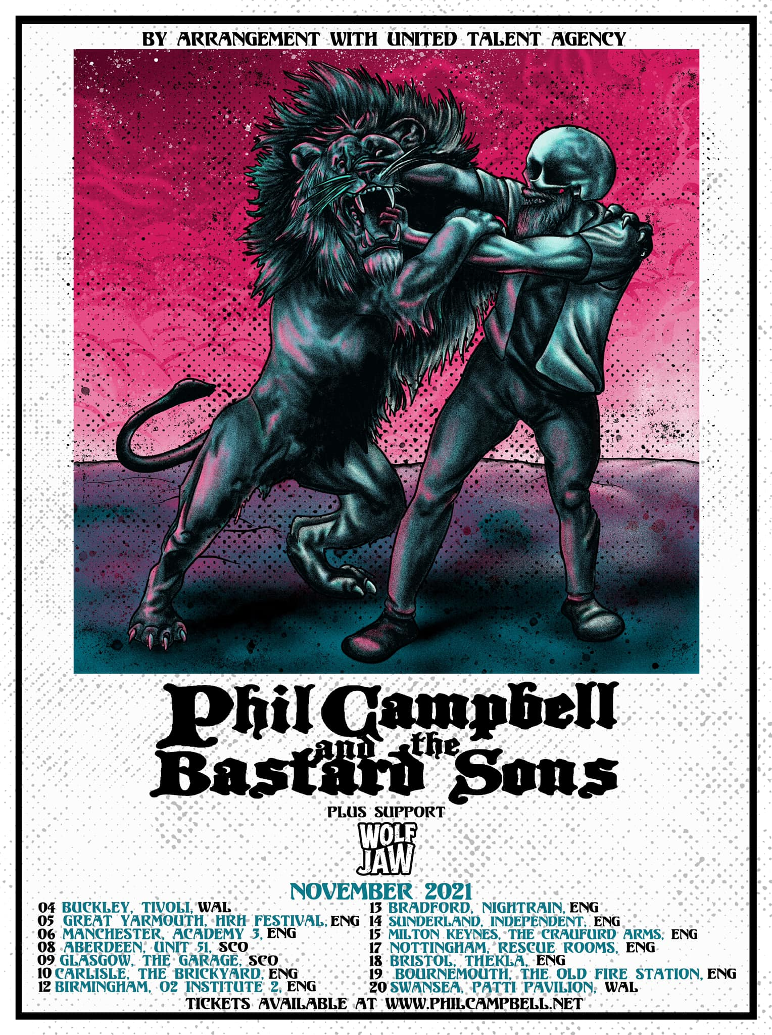 Phil Campbell And The Bastard Sons UK Tour 2021